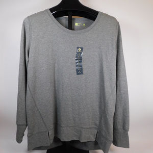 Xersion Women's Gray Sweatshirt XL CL1227 1019